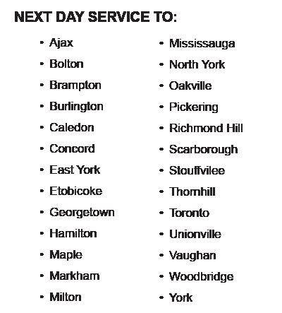 Next Day Service